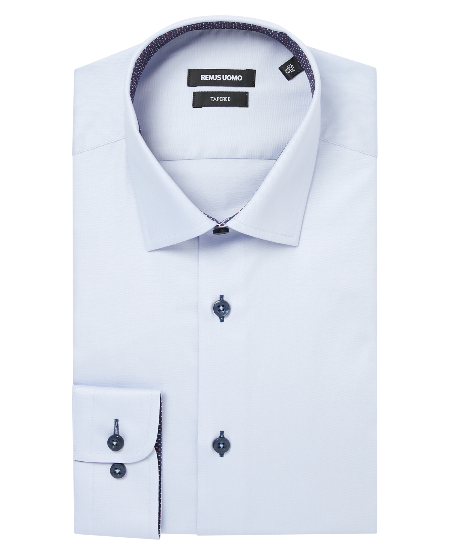 Tapered Fit Cotton-Blend Shirt