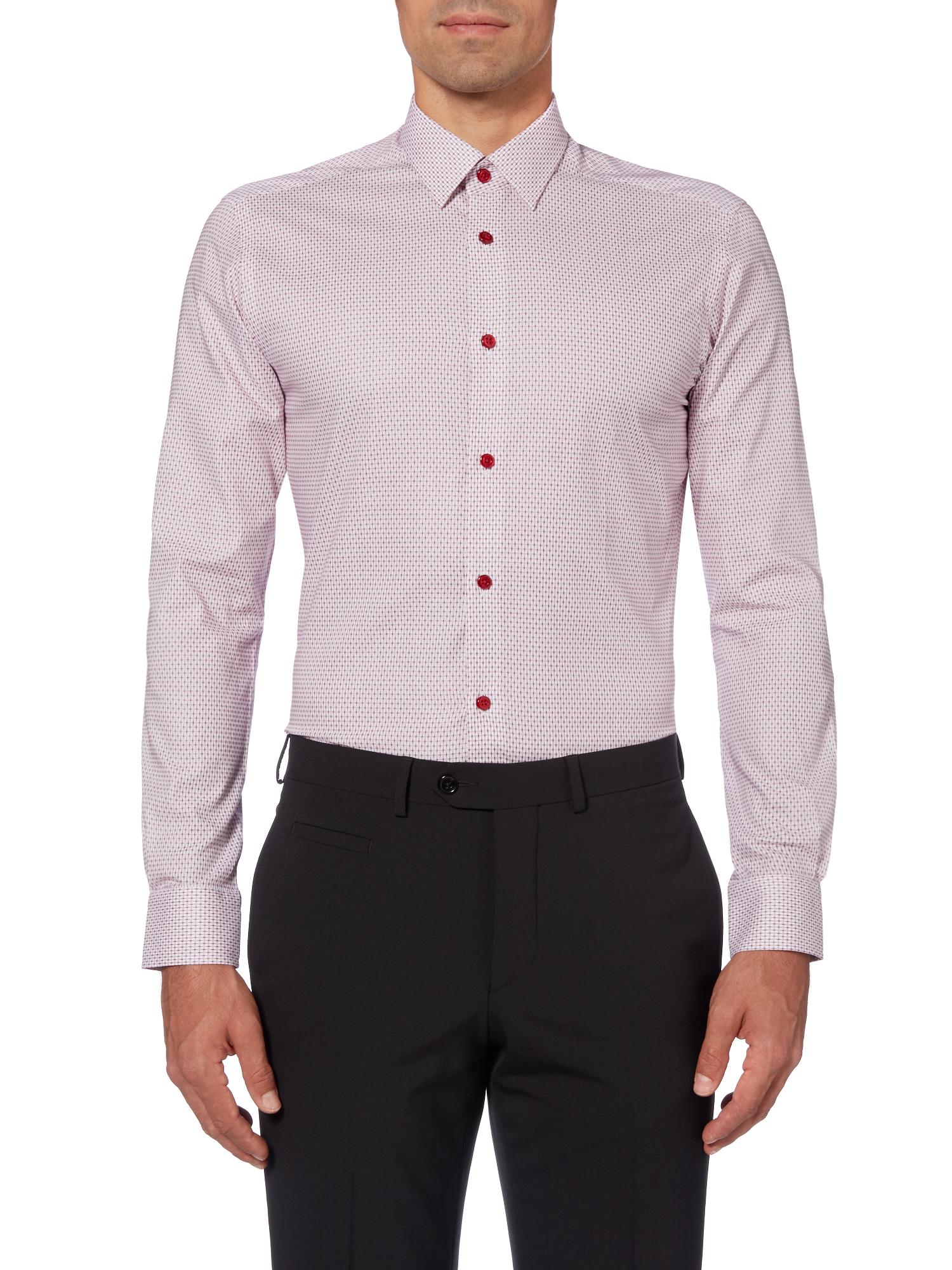 Slim fit cotton shirt
