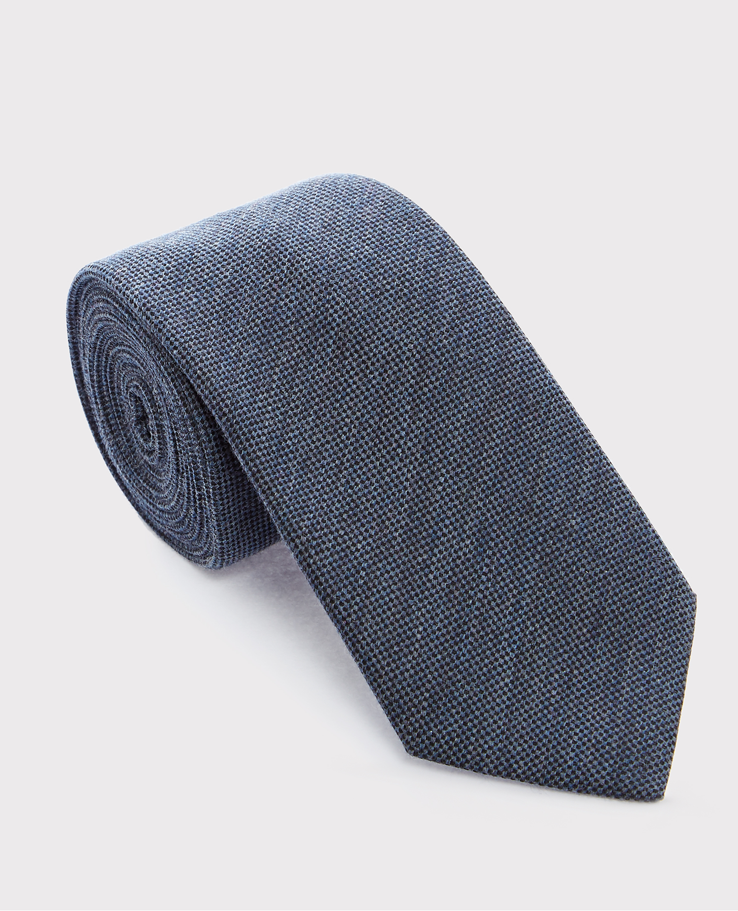 Cotton-Silk Melange Tie