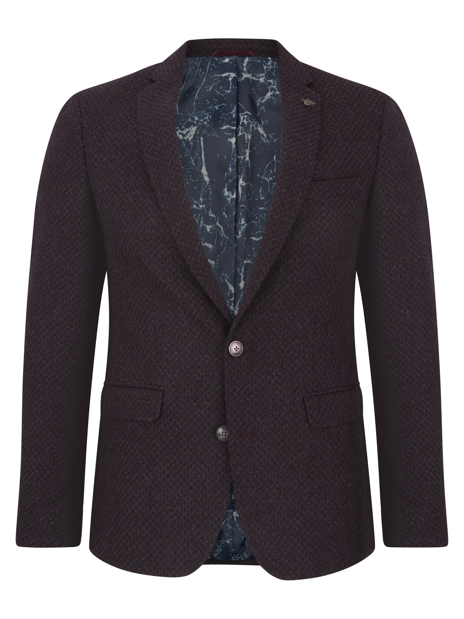 Slim Fit Wool-Rich Jacket