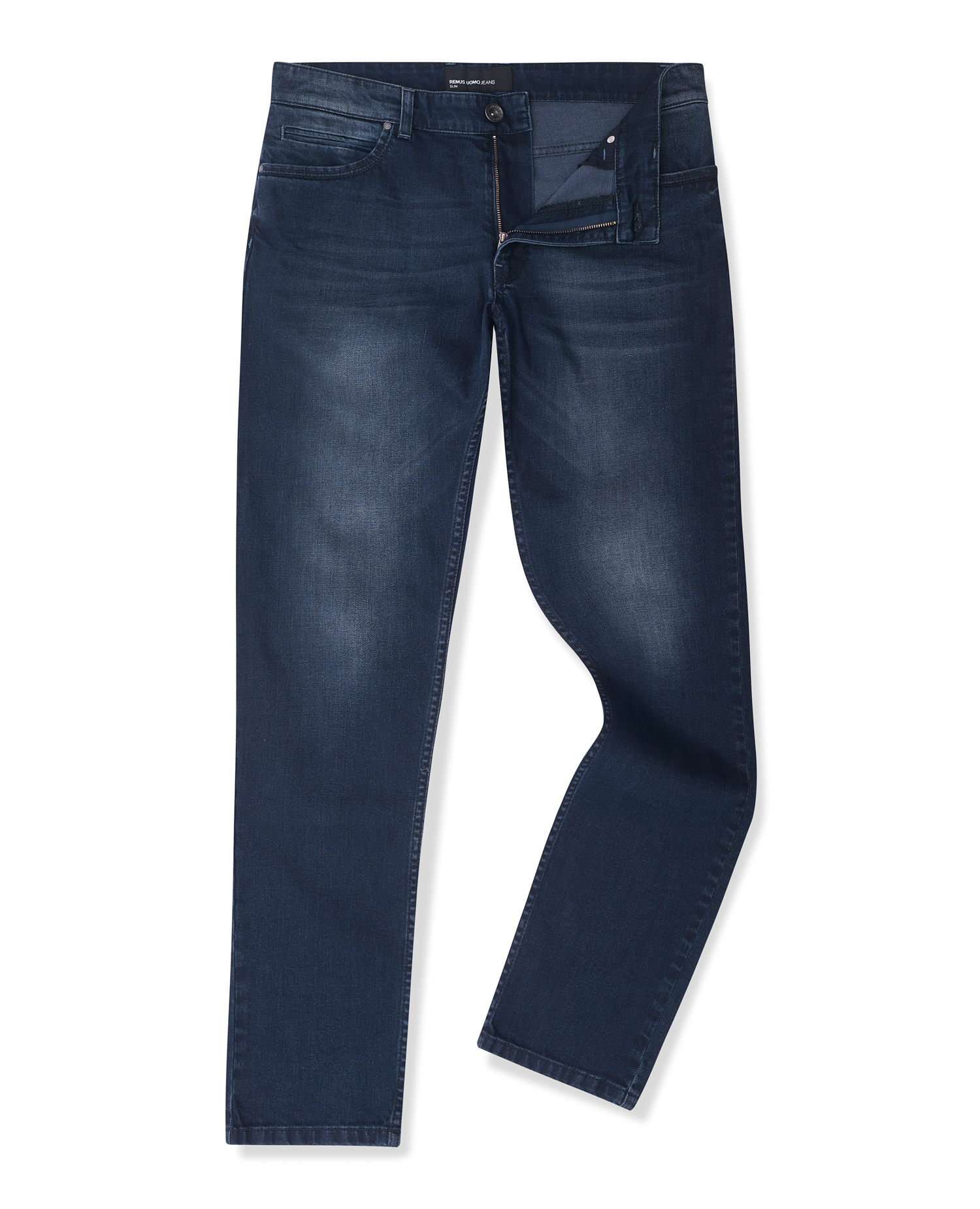 Slim Leg Cotton-Stretch Jean