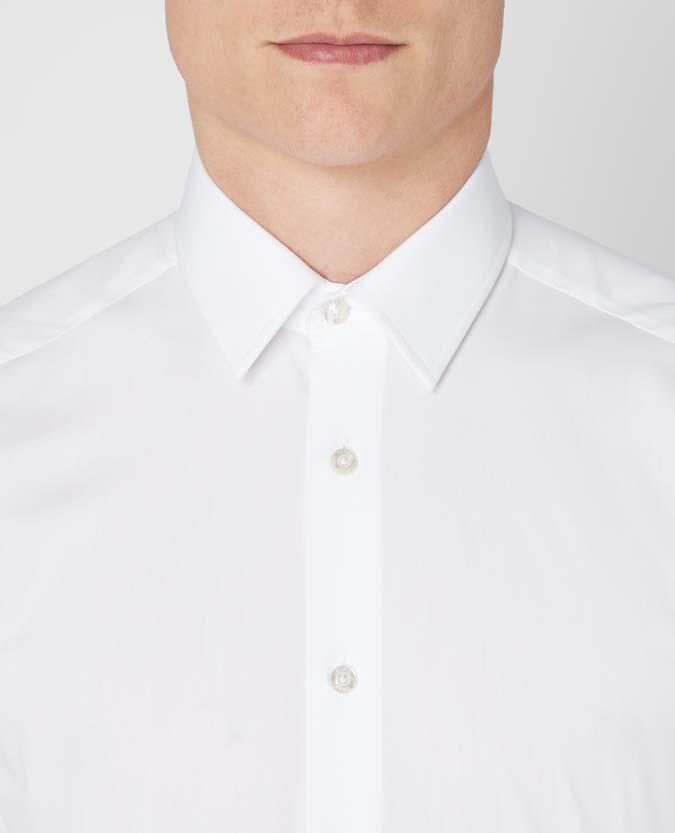 Slim Fit Cotton-Blend Shirt