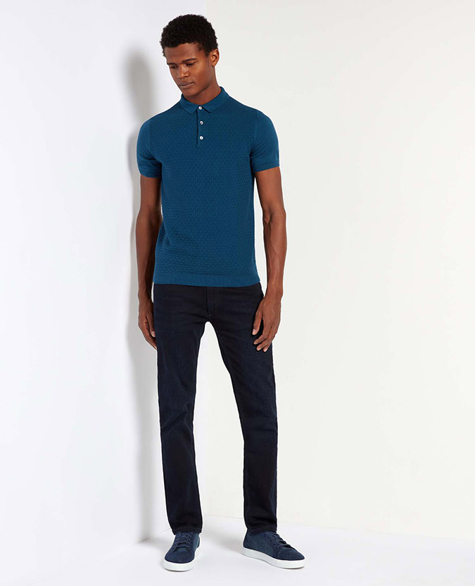 Slim Fit Cotton Polo