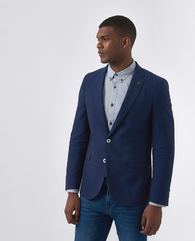 Slim Fit Cotton Jacket