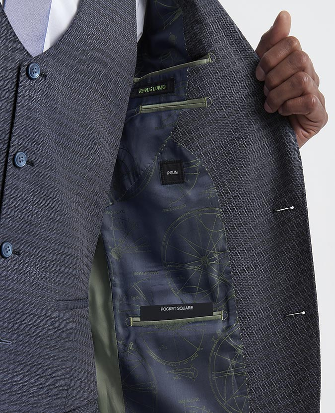 X-Slim Fit Wool-Rich 3 Piece Suit