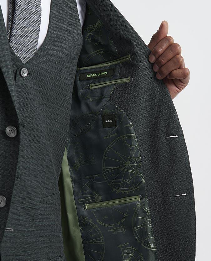 X-Slim Fit Wool-Rich 3 Piece Suit