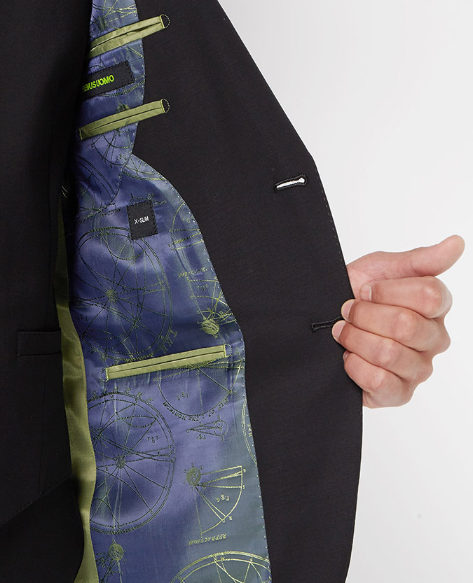 X-Slim Fit Wool-Blend Stretch Mix and Match Suit