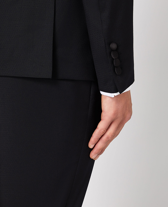 Slim Fit Wool-Rich Mix and Match Dinner Suit