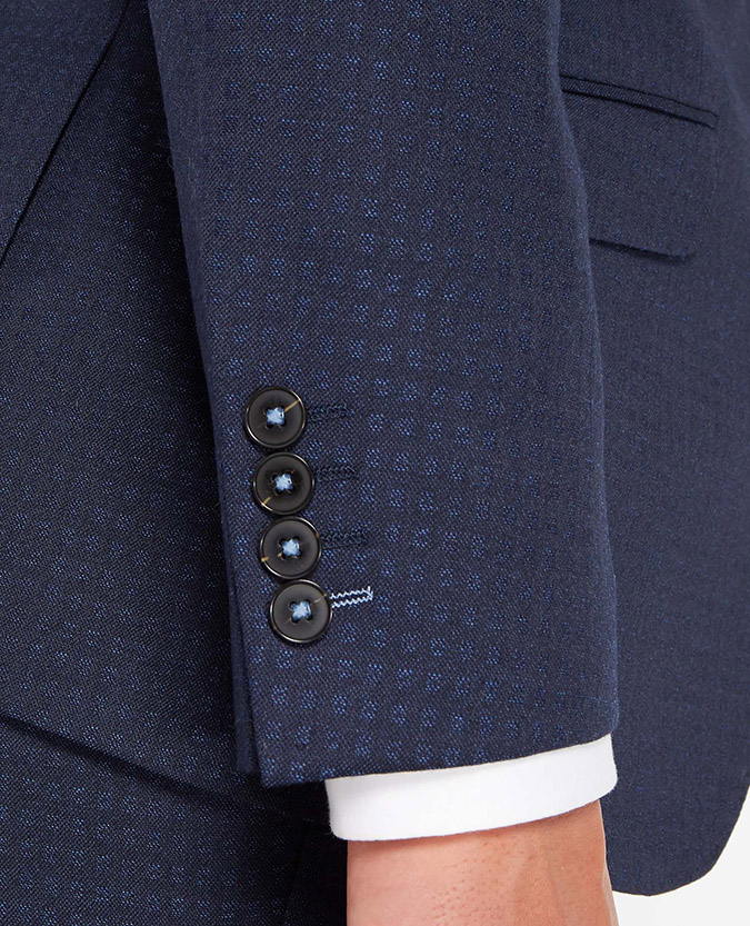 Tapered Fit Pure Wool Mix and Match Suit