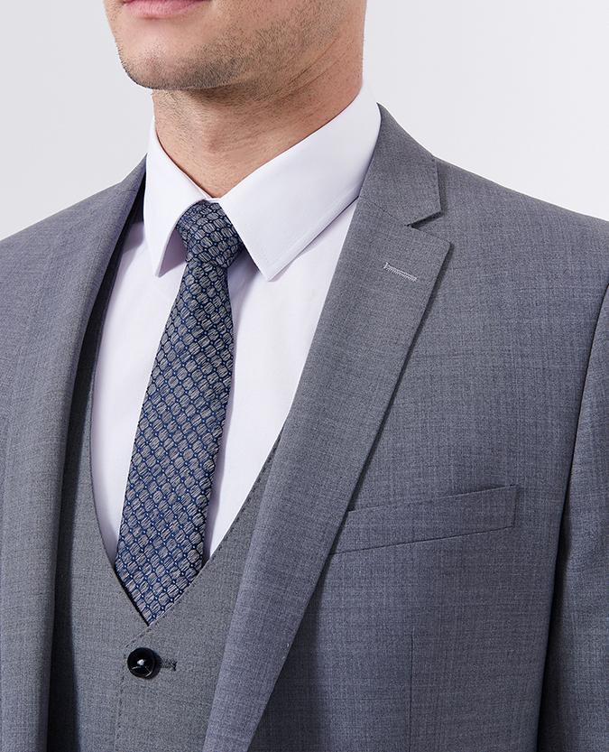Slim Fit Performance Wool-Rich Mix and Match Suit