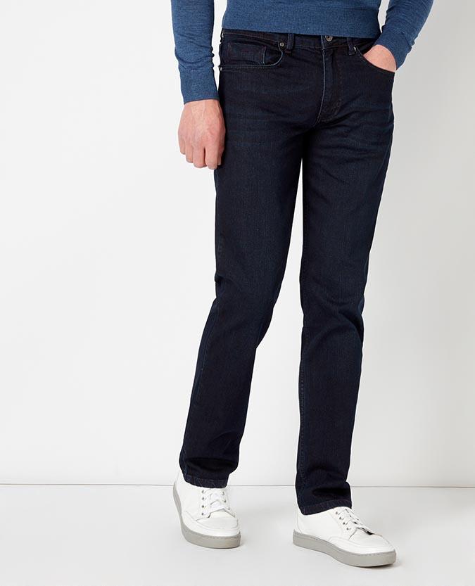 Straight Leg Stretch-Denim Jean