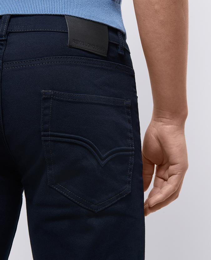 Slim Leg Cotton-Stretch Jean