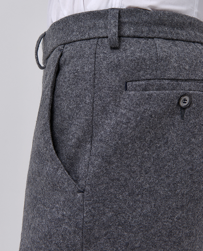 X-Slim Fit Wool-Rich Casual Suit Trouser