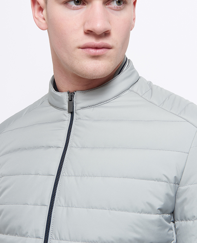Slim Fit Lightweight Quilted Jacket