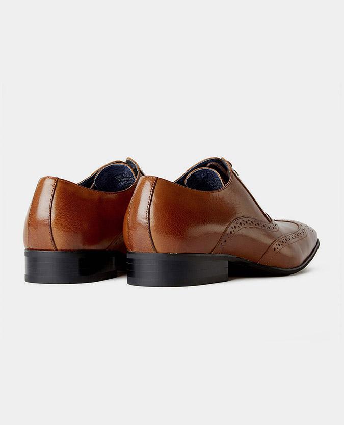 Leather Wingtip Brogue