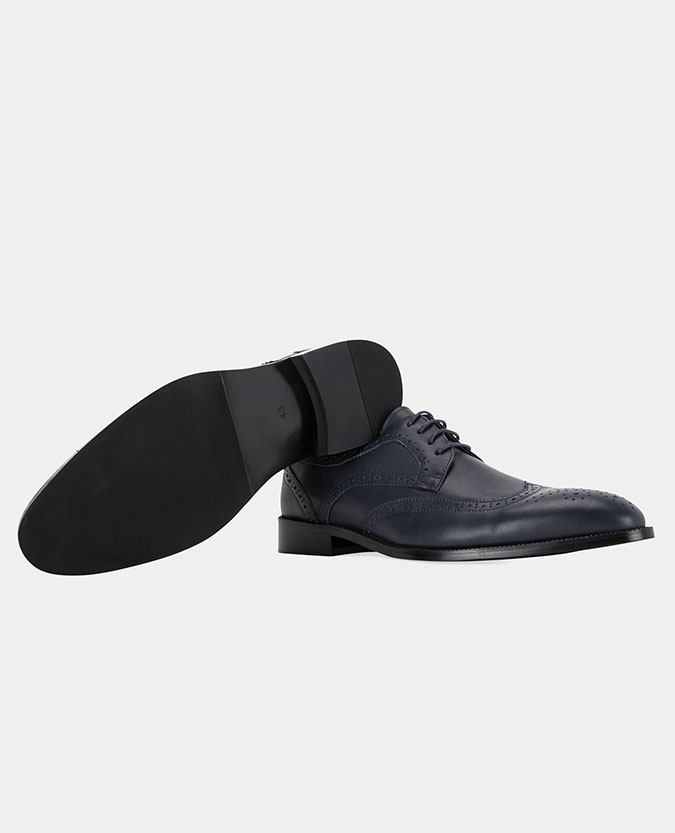 Leather Derby Brogue