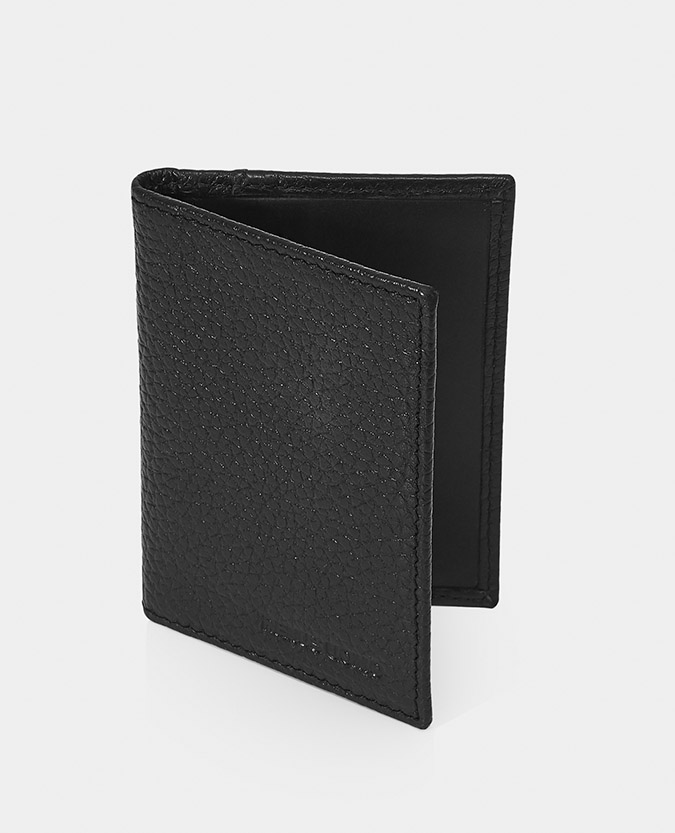 Leather Bi-Fold Card Holder